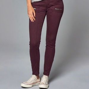 Abercrombie and Fitch Super Skinny Pants, 4R, 27